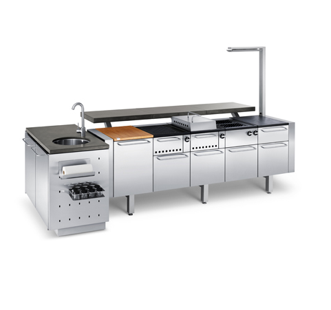 Fuego The Ultimate Outdoor Kitchen Modular Outdoor Kitchens Replacing Kitchen Countertops Outdoor Kitchen Countertops