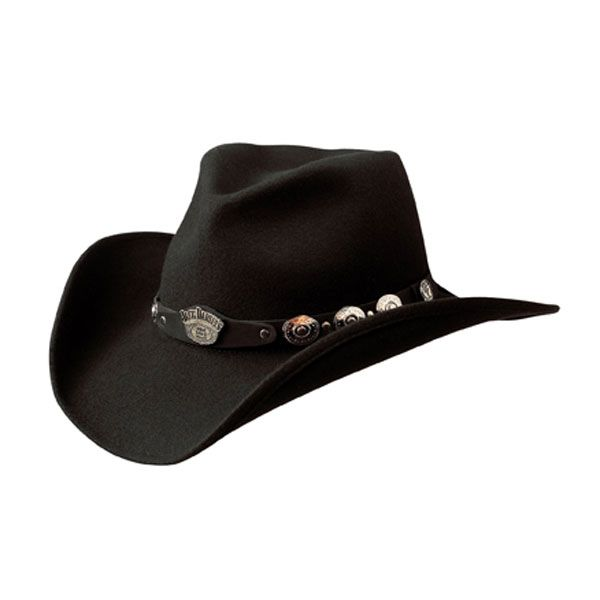 9a6389dcf nice Jack Daniels Highest Order (JD03-43) - Wool Cowboy Hat