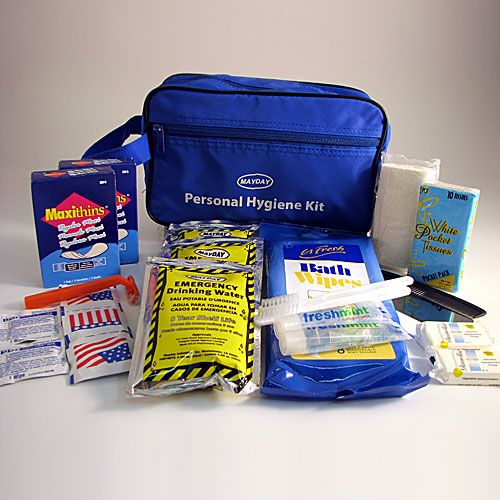 1-Mayday Emergency//Survival//Disaster Deluxe Personal Hygiene Kit
