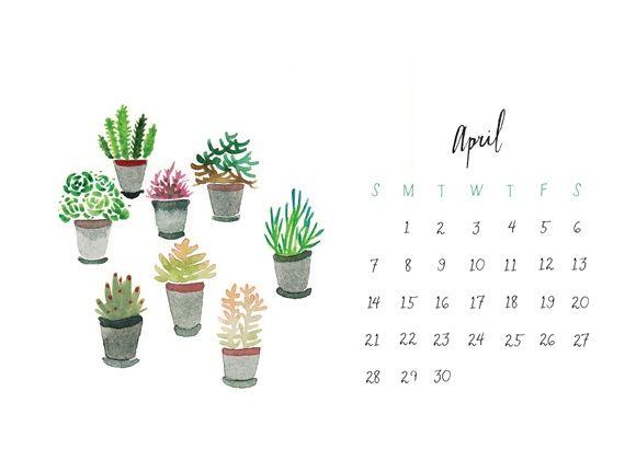 Download Our April Calendar Desktop Wallpaper Calendar