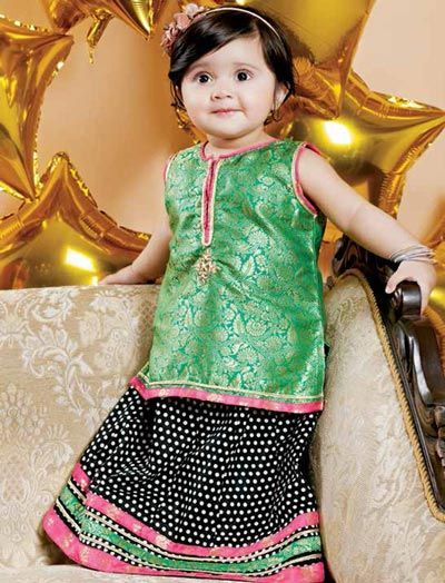 a3342632f61aa2513ae4b4feb9c6d1fd Punjabi Dress for Kids- 30 Best Punjabi Outfits for Children