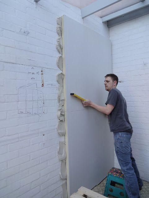 Insulating Walls With Cake Kezzabeth Diy Renovation Blog Wall Insulation Diy Insulation Diy Renovation