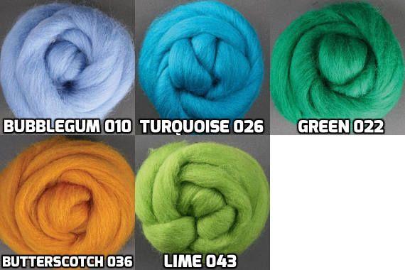 Bubble Gum Corriedale Wool