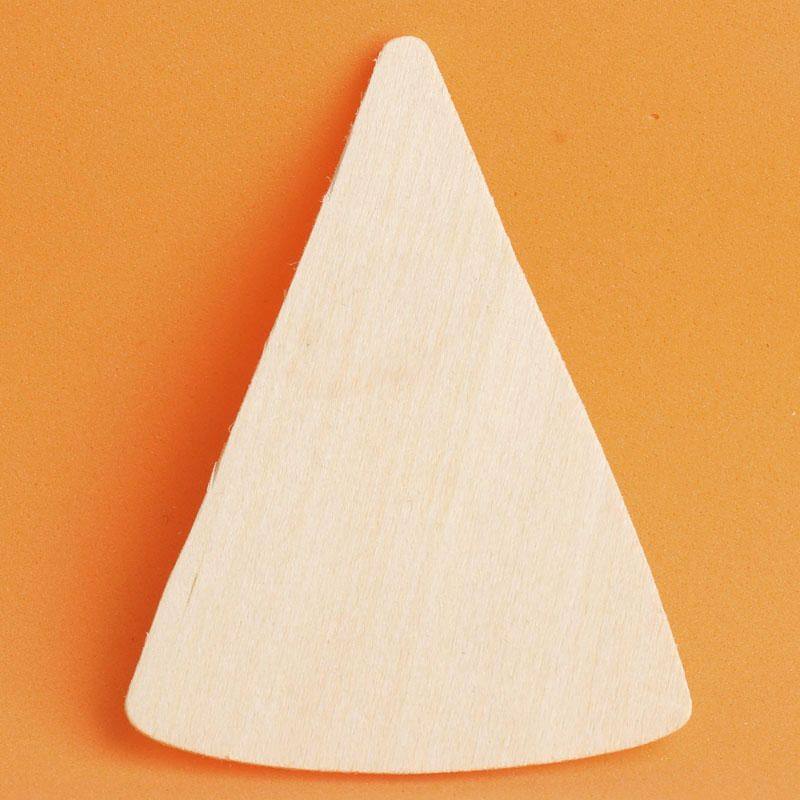 Candy Corn Halloween Unfinished Wood Shape Piece Cutout for DIY Craft Projects
