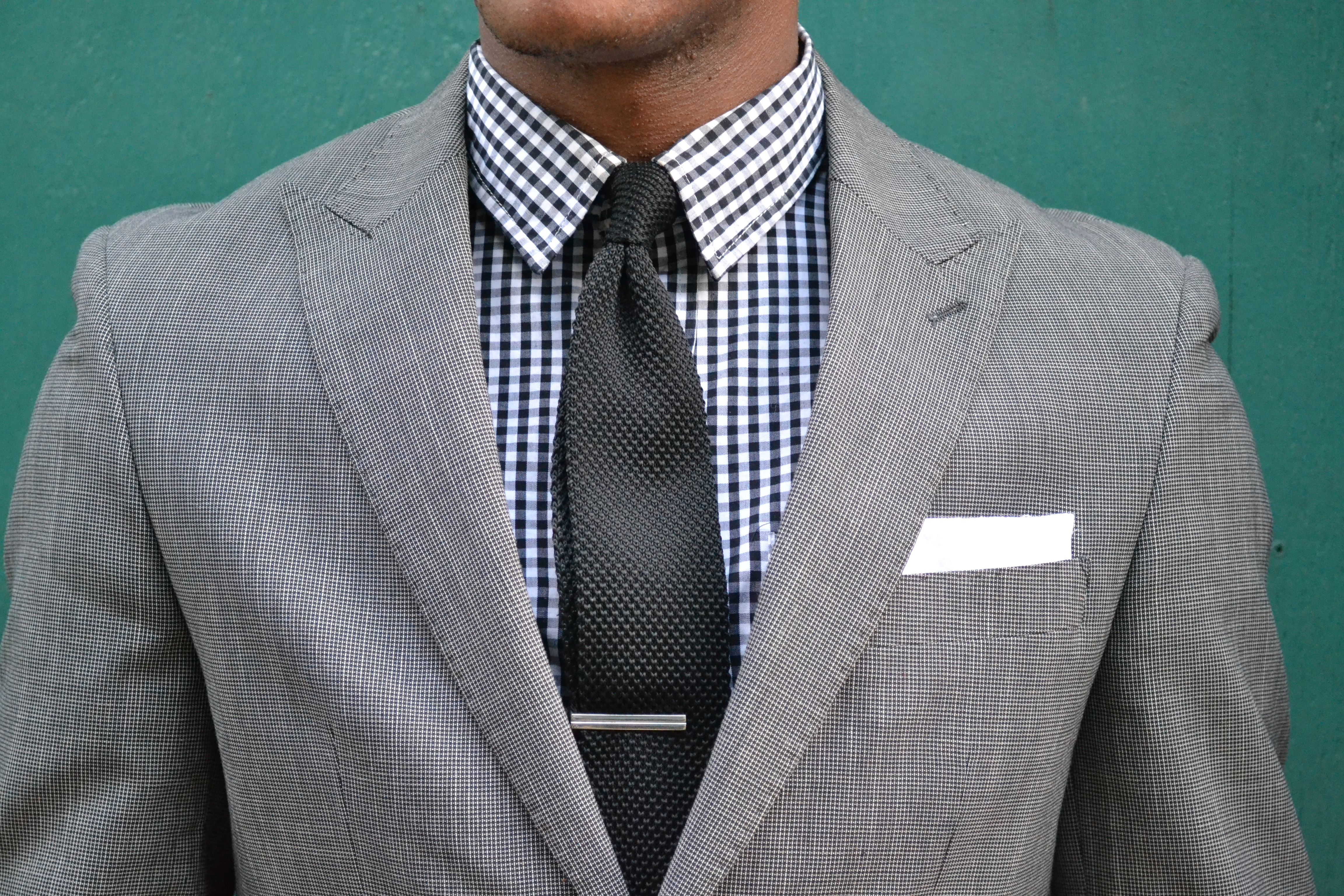 Ties with grey suit blue gingham shirt google search Blue suit shirt tie combinations