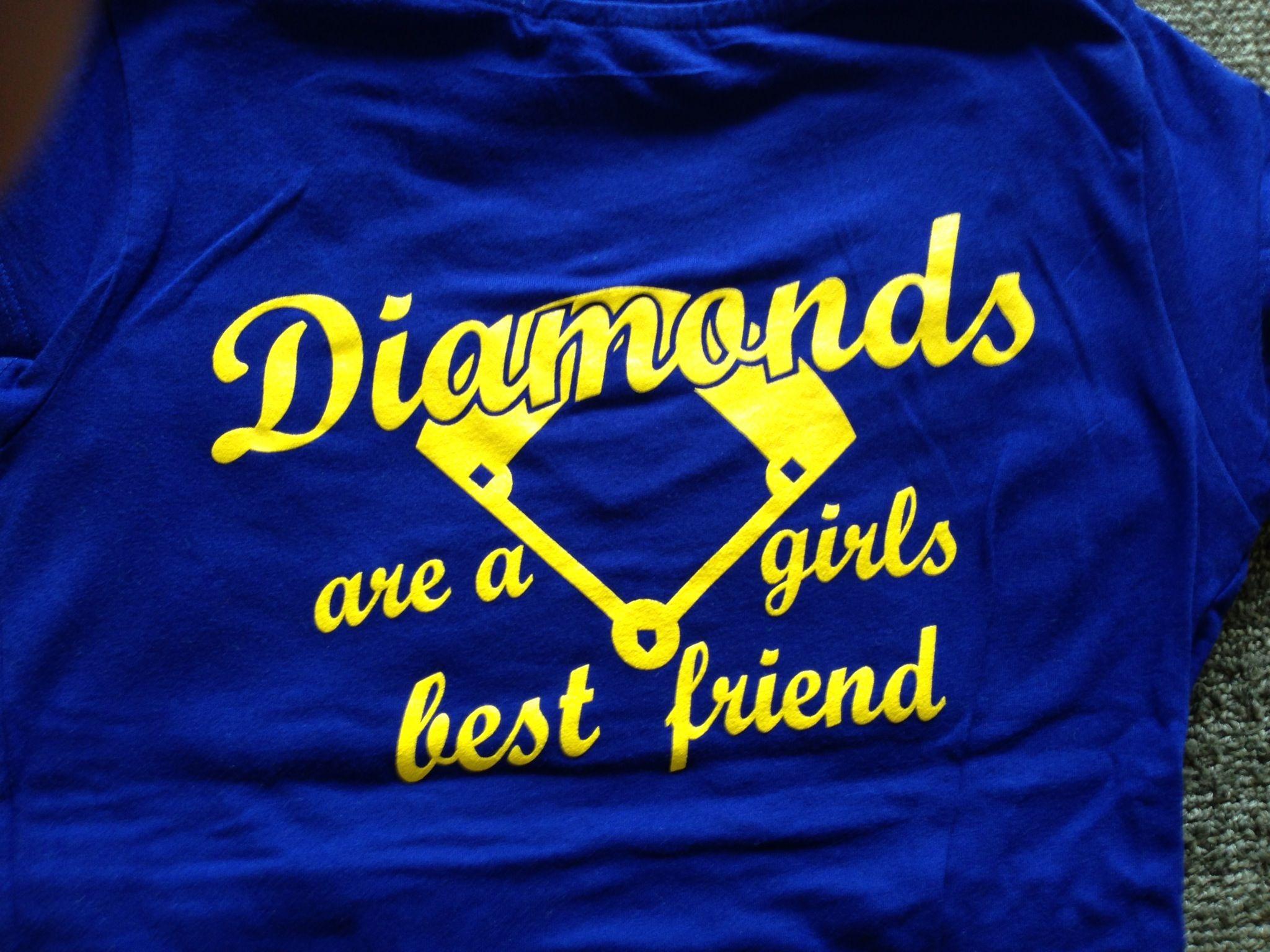 Diamonds are a girls best friend!