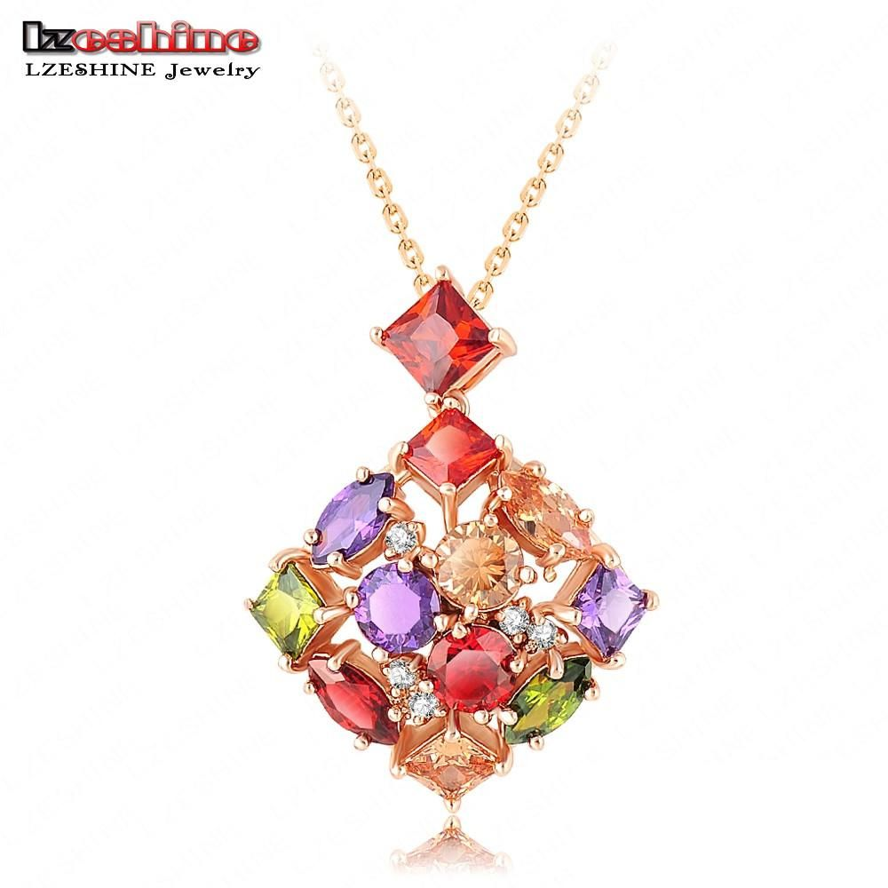 Top quality luxury wedding bijoux golden plate necklaces u pendants