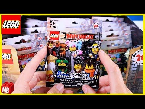 HOW-TO KNOW WHAT'S INSIDE Lego NINJAGO MOVIE Collectible Minifigures ...