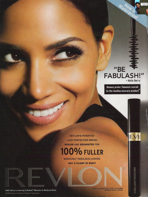 Halle Berry for Fabulash Mascara | cosmetics ads | Pinterest ...