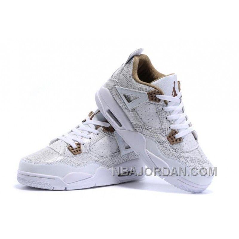 "726b2a51a984 2016 Air Jordans 4 Pinnacle ""Snakeskin"" For Sale Authentic"