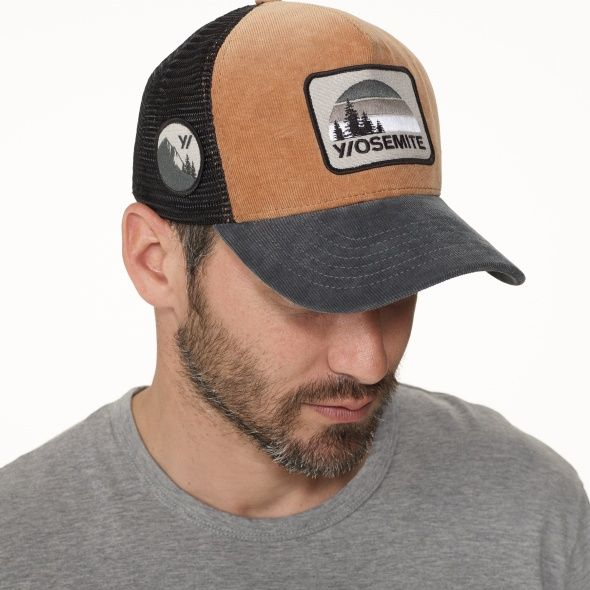 aa1b2ce0813 James Perse Double Face Knit Trucker Hat