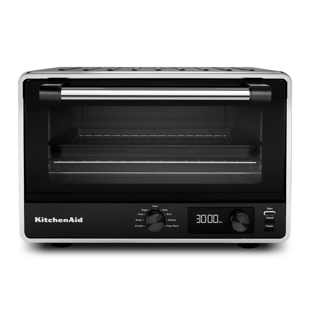 Kitchenaid Matte Black Digital Countertop Oven In 2020
