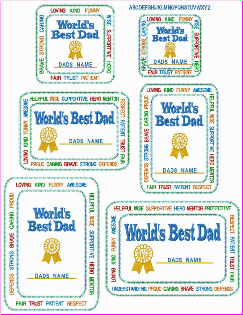 world s best dad certificates don t all of the dad s in your