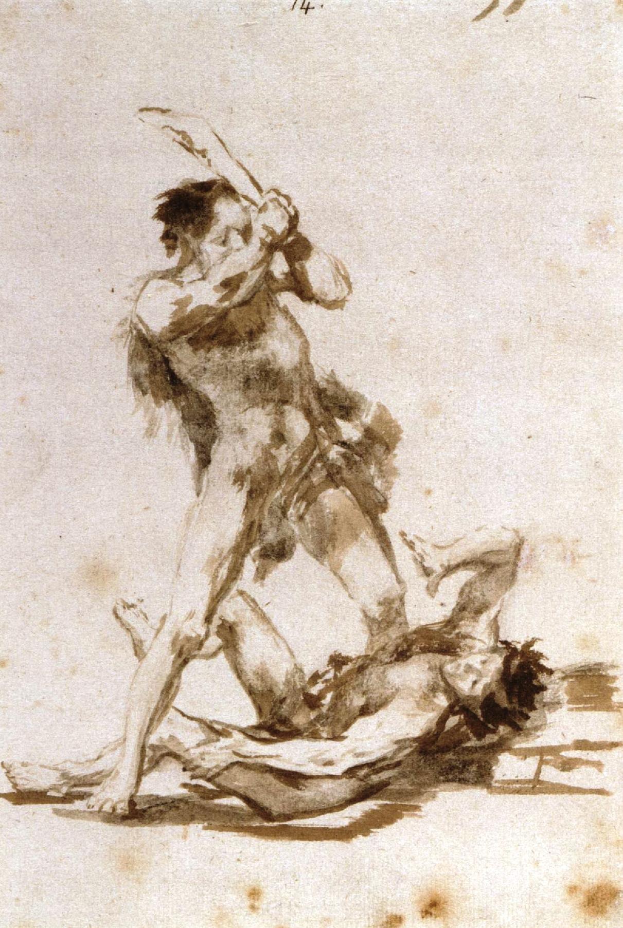 Francisco de Goya - Caín y Abel. Álbum C
