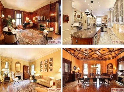Beautiful apartment in the Dakota building. Central Park