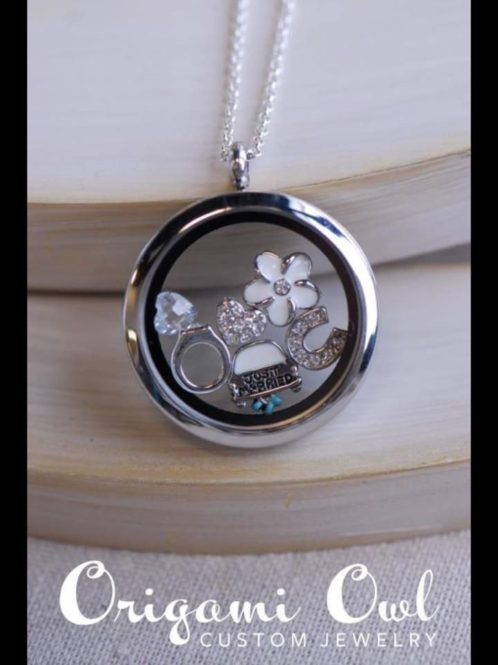 Beautiful Origami Owl layer chain!! Click photo for ordering info ... | 960x720