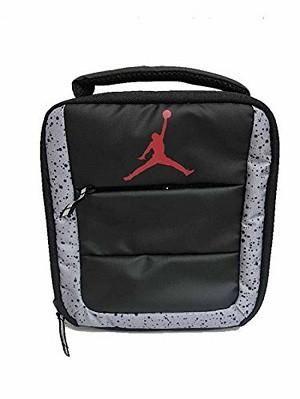 b1602891b1 Nike Air Jordan Insulated Lunch Box Tote - Black Gray