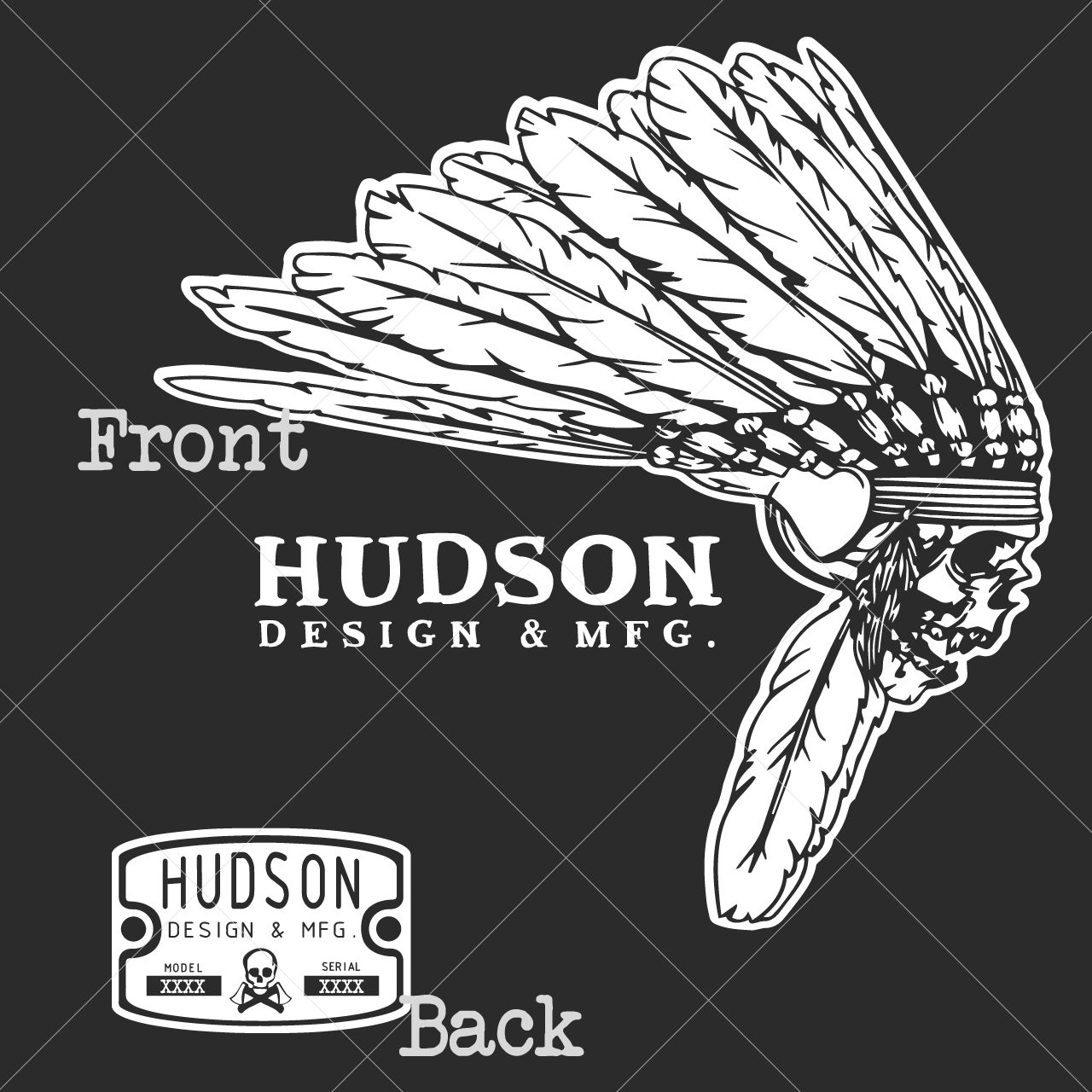 HDM Native TriBlend Tee Hudson Design & Manufacturing