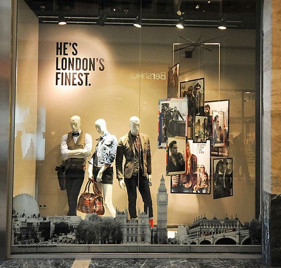 designer store window displays | window displays Autumn 2012 Budapest 02 Pepe Jeans window displays ...
