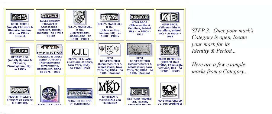 List Of Gold Maker Marks Identify Silver Marks Jewelry
