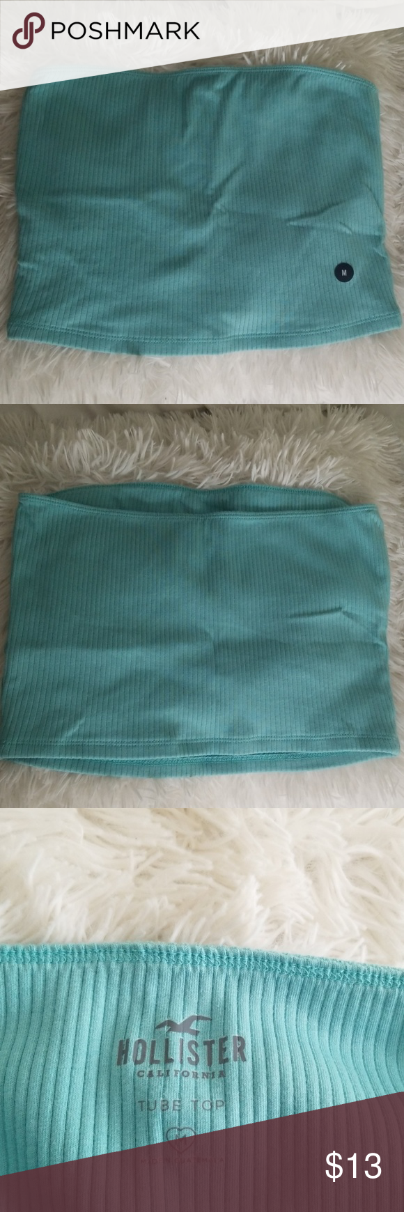 teal Hollister tube top • teal • tube top • brand new never worn • in perfect condition Hollister Tops Crop Tops #tubetopoutfits teal Hollister tube top • teal • tube top • brand new never worn • in perfect condition Hollister Tops Crop Tops #tubetopoutfits