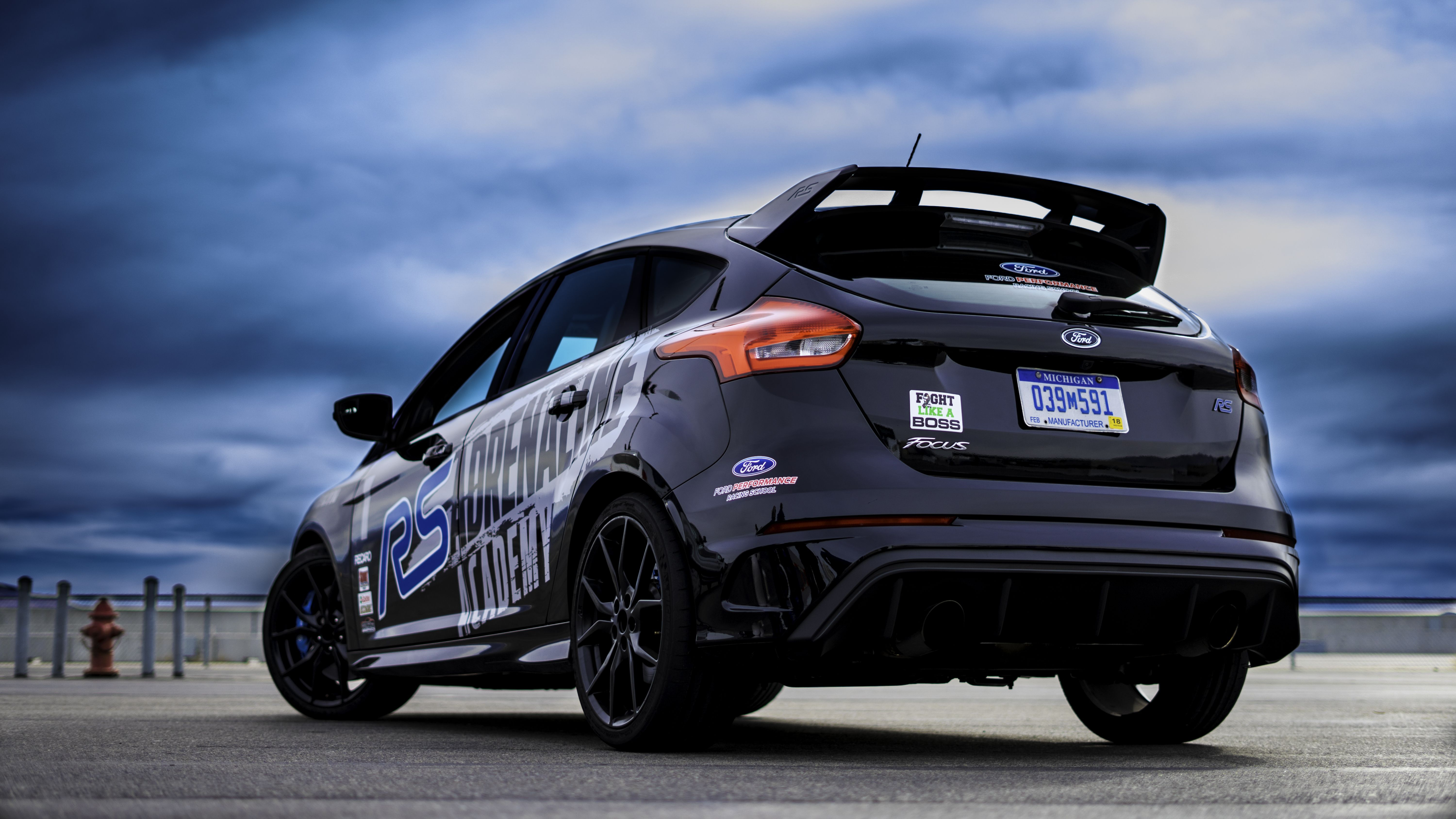 Ford Focus Rs At The Adrenaline Academy In Utah Check Out The