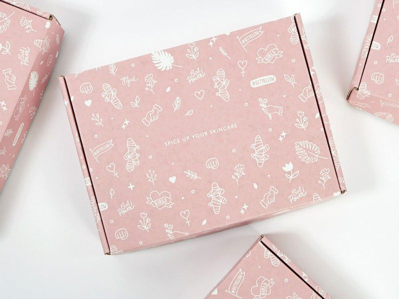 Yllo Beauty Package Design