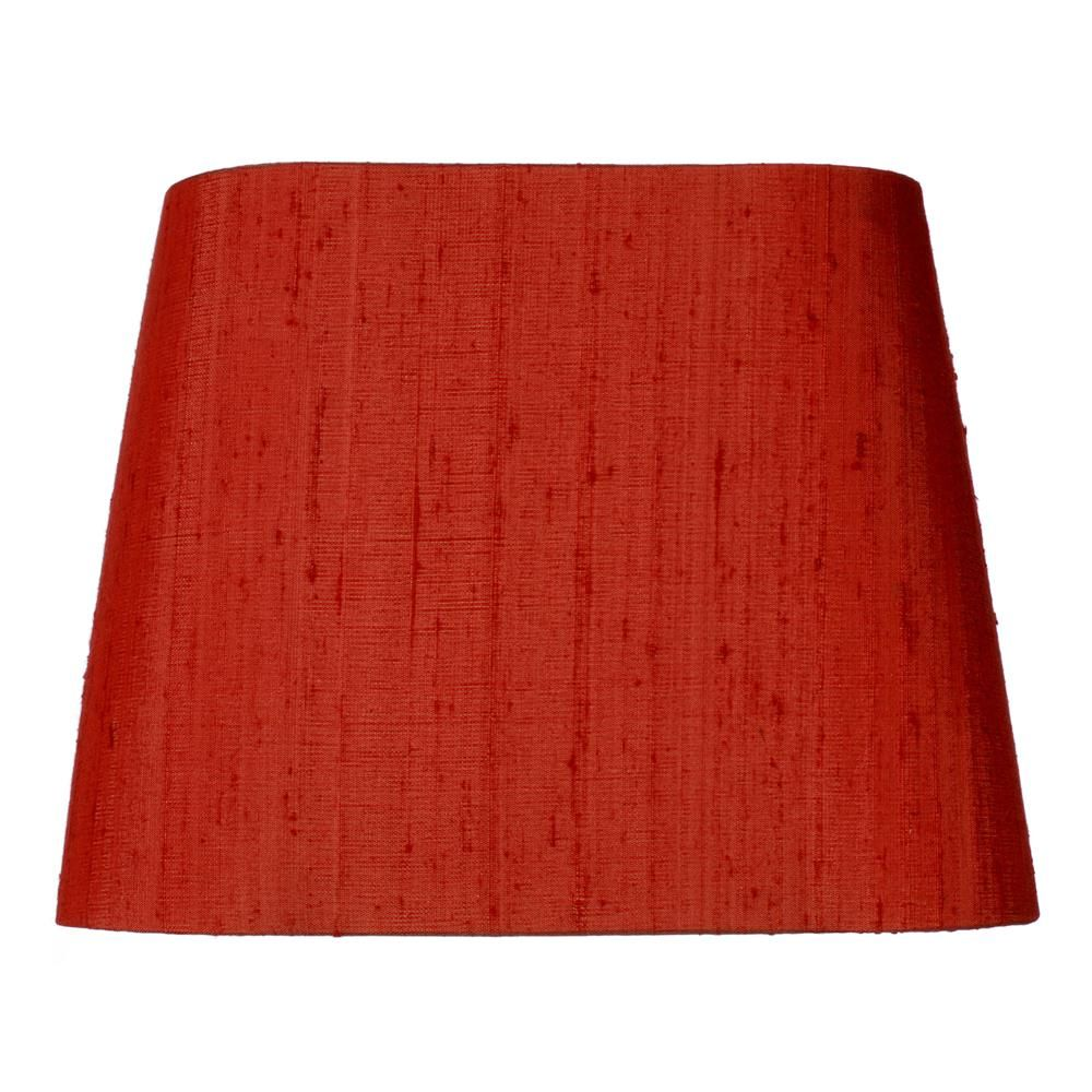 Half Shades | Penrose Half Shade in Antique Red Silk