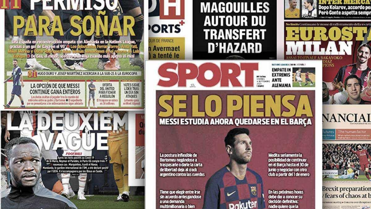 Top 3 Today Football News Headlines In 2020 Football Newspaper Headlines Football
