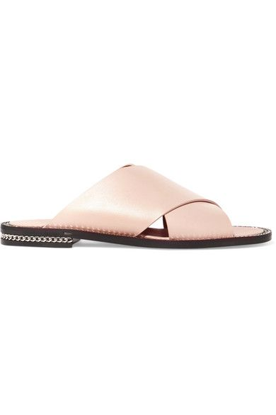 243bf5c4b80f GIVENCHY Embellished leather sandals.  givenchy  shoes  sandals
