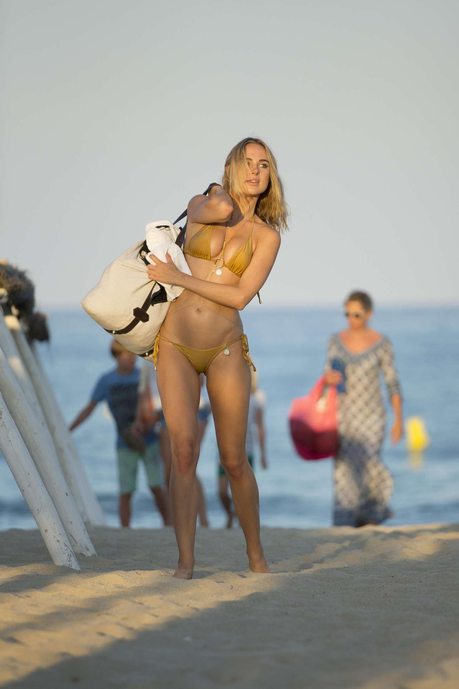 Kimberley Garner – Wearing Gold Bikini in France 2016--09 ...
