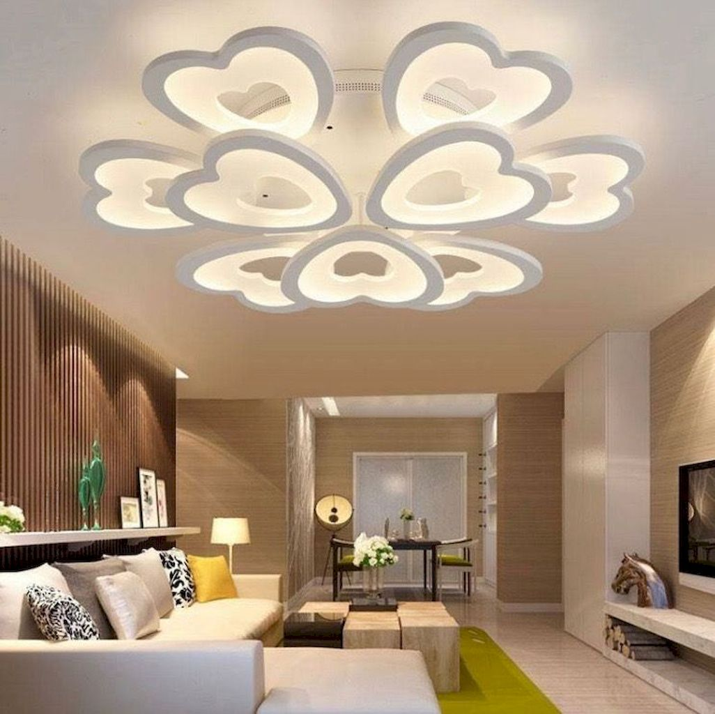 Living Room Recessed Lighting Ideas: LED Ceiling Light Decoration Ideas For Home