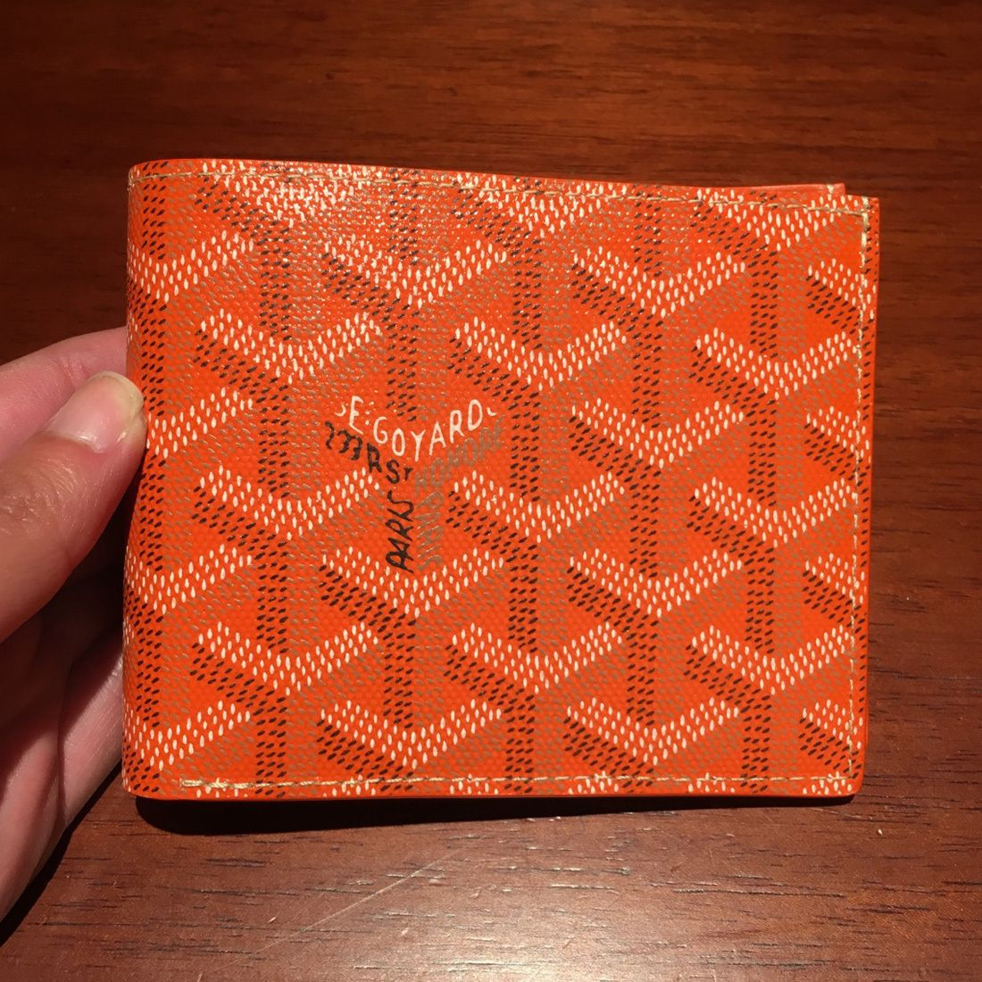 fd9840fa025b GOYARD Unisex Leather Folding Wallets in 2019