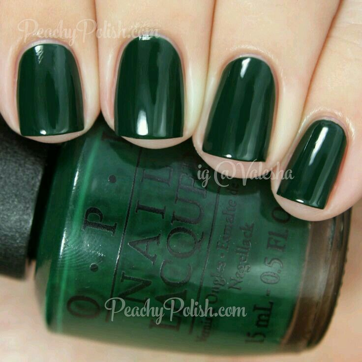 green Christmas | Nails | Pinterest | Colores de esmaltes, Esmalte y ...