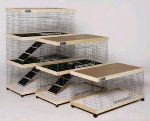 Indoor Rabbit Cage Plans