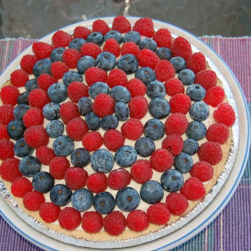 Summer Berry Creamy Dessert