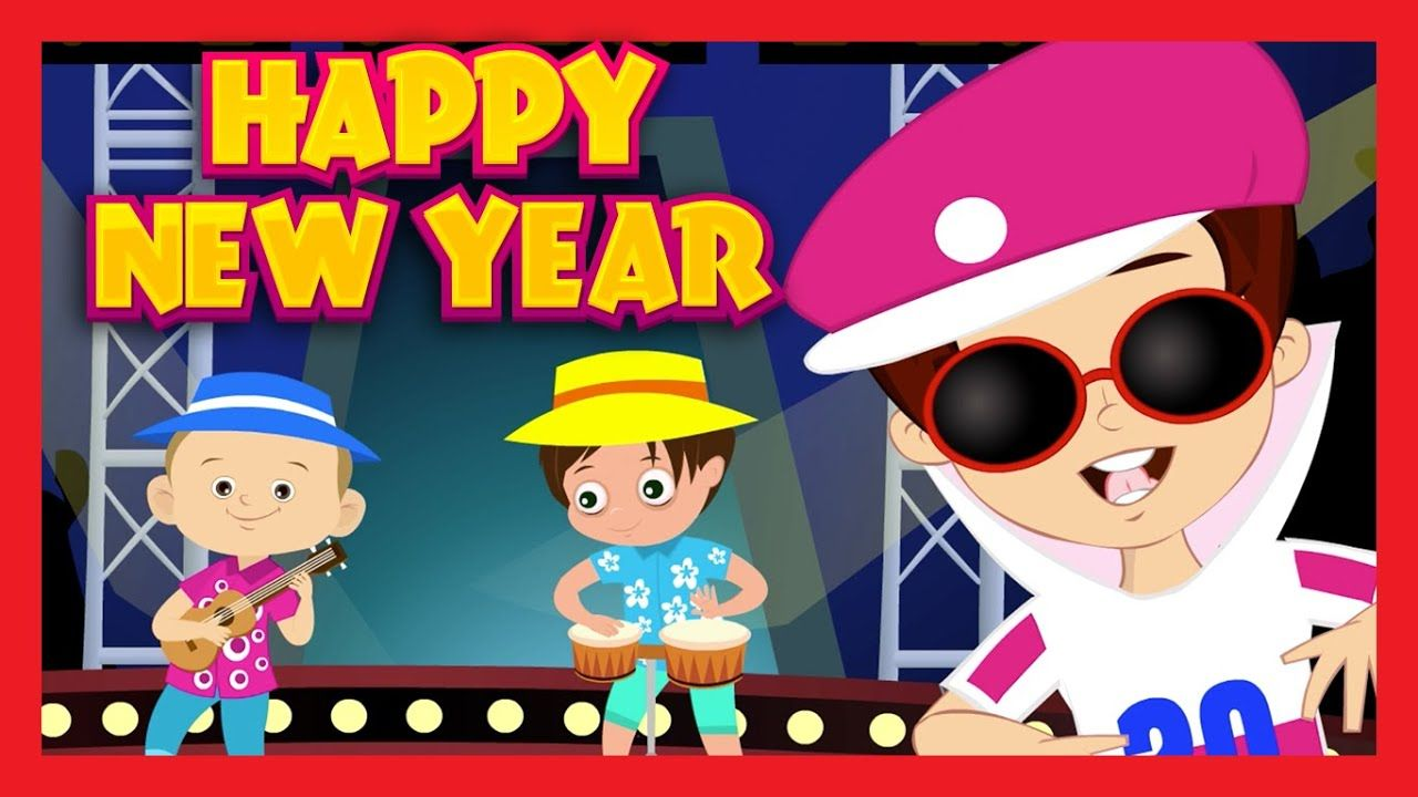 Happy New Year Dancing Song For Children Kids Songs New Years
