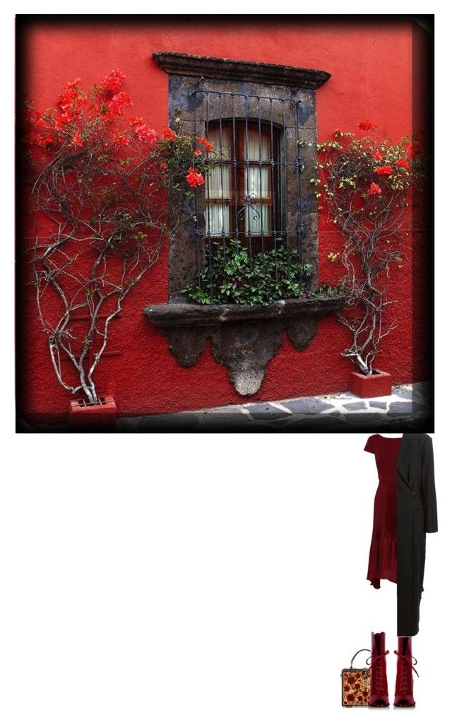 """""""Her window"""" by nino-d-f ❤ liked on Polyvore featuring Dolce&Gabbana, D&G, A.F. Vandevorst, women's clothing, women, female, woman, misses and juniors"""