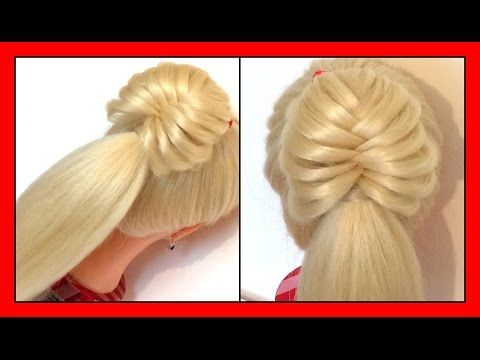 quick & cute strand style hairstyle