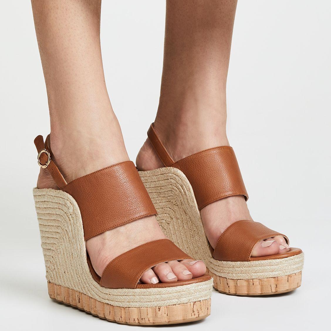 06b59b6dea4 Salvatore Ferragamo Maratea Wedge Sandals