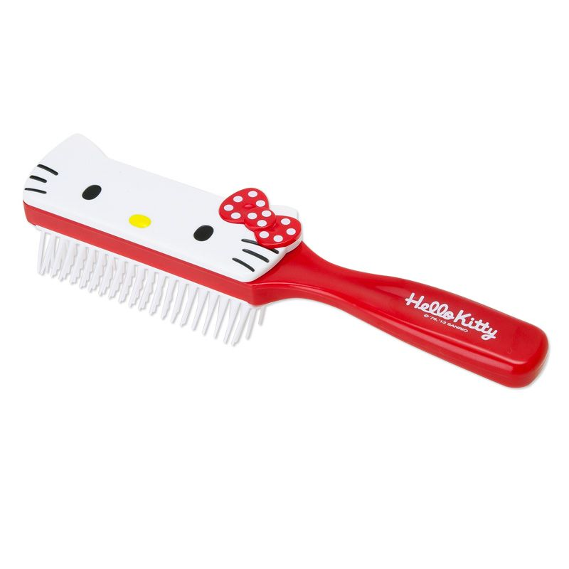 Hello Kitty face shaped hair brush Sanrio online shop - official mail order site