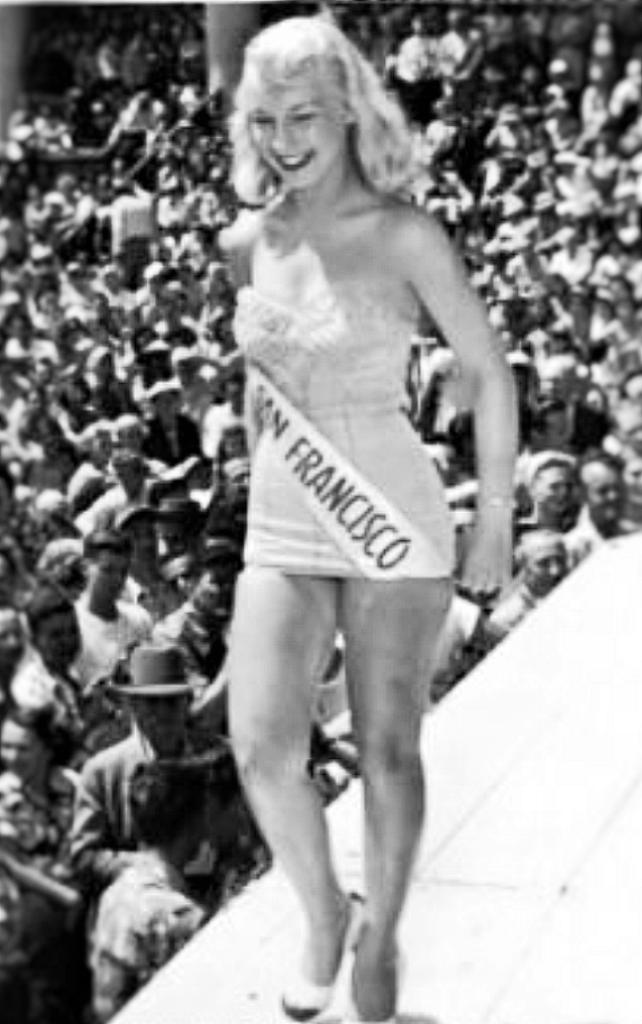 Barbara Huffman (Barbara Eden) Miss San Francisco 1951