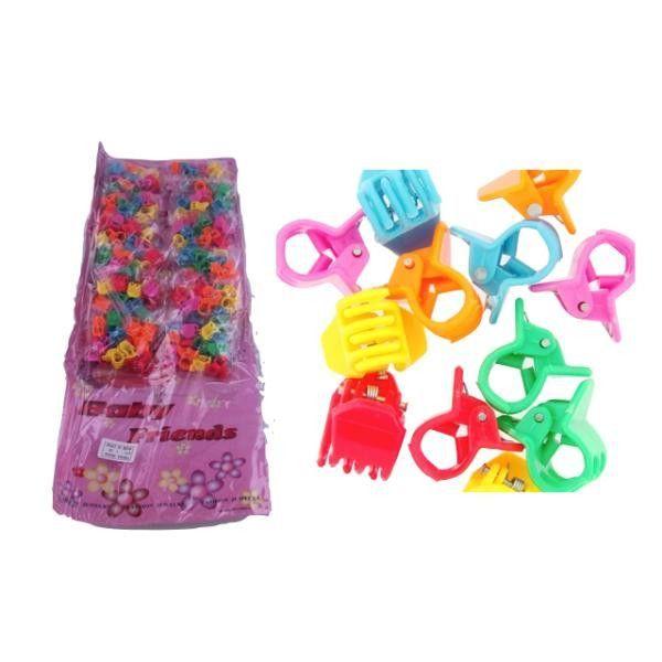 144 mini hair clips