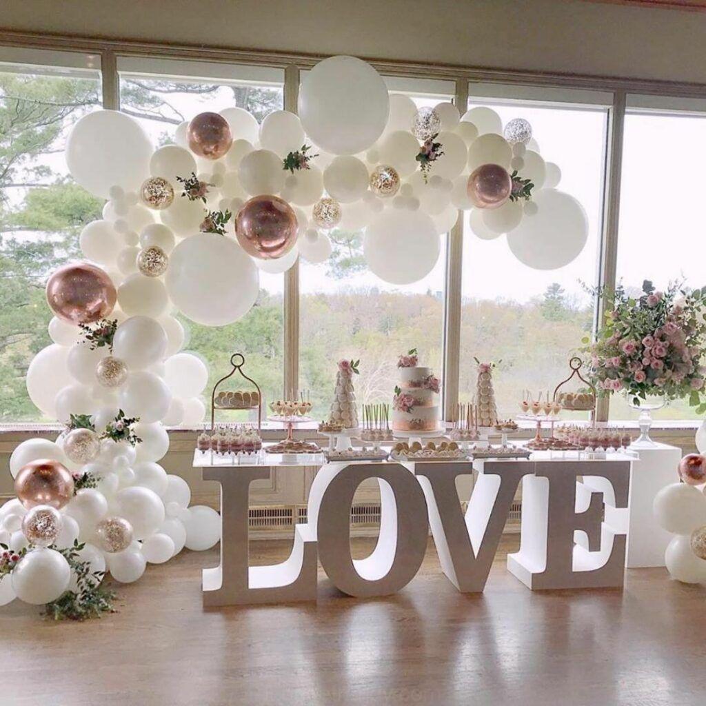 Idee Piu Fresche E Le Tendenze Sposa 2020 Amore Palloncino Naturale Decorazioni Di Nozze Idee Palloncini Matrimonio Decorazioni Di Nozze Decorazioni Nuziali