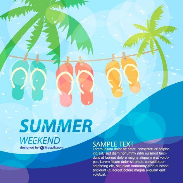 Summerposterfunholidaytemplate FreepikTropicalPin20 – Fun Poster Templates