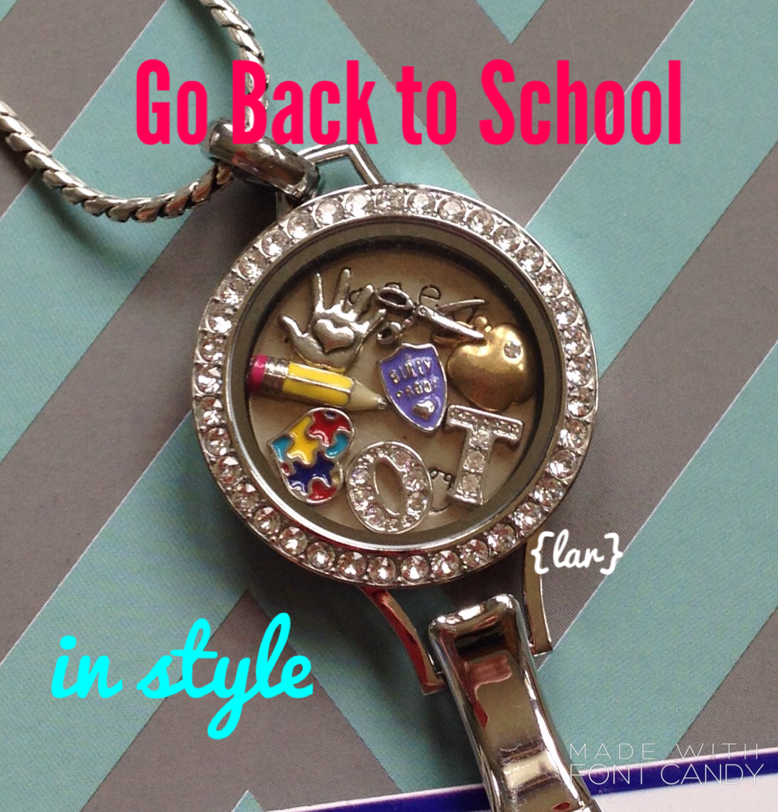 Go back to school in style with the Origami Owl lanyard ... - photo#15