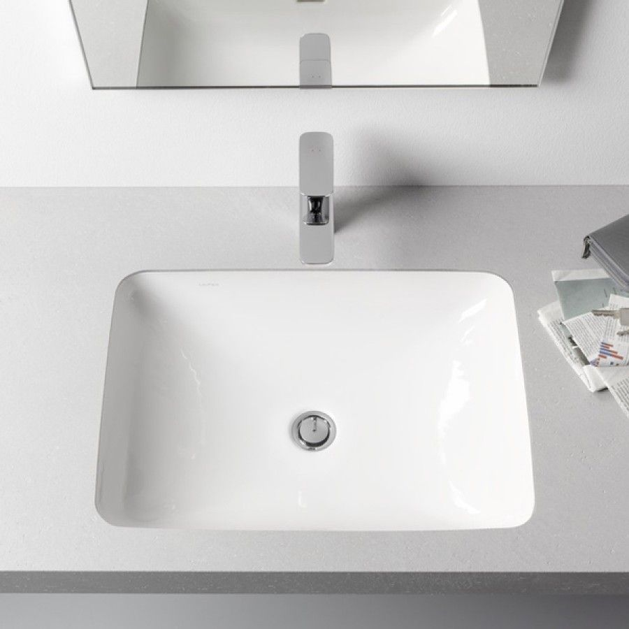 Laufen Pro S White Undermount Basin Without Tap Hole 490x360x170mm