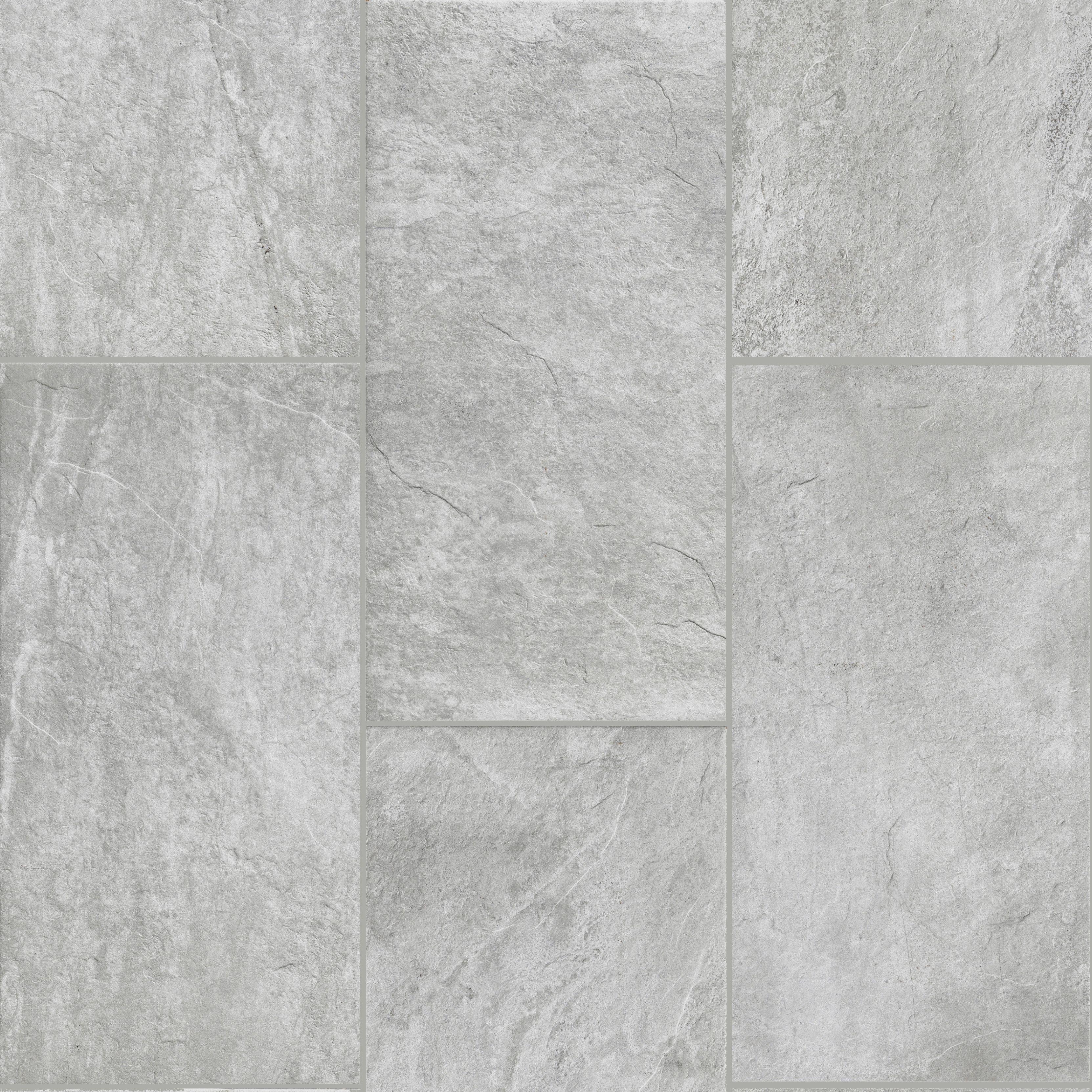 Evolution  Grey X Glazed Porcelain Tile