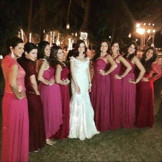 Sanaya Irani Mohit Sehgal Wedding Here Are The Latest Pictures Of Reception Held In Evening On Her Special D Day