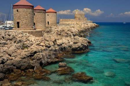 Rhode Island Attractions And Sightseeing Photos Rhodes Island Greece Beaches Tourist